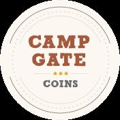 Camp Gate Coins Logo